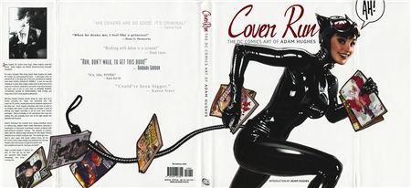Cover Run:The DC Comics Art of Adam Hughes(DC漫画总监封面作品集)封面