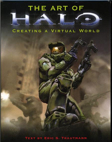 The art of Halo (光晕的艺术) 设定集封面