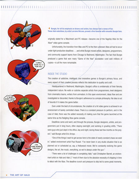 The art of Halo (光晕的艺术) 设定集 目录