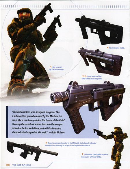 The art of Halo (光晕的艺术) 设定集
