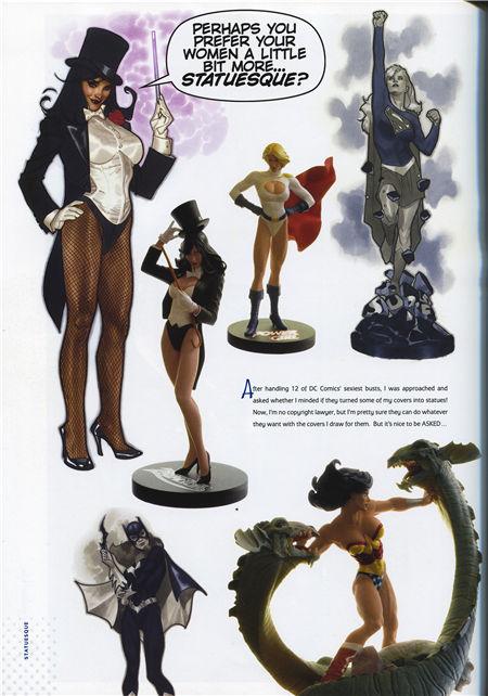Cover Run:The DC Comics Art of Adam Hughes