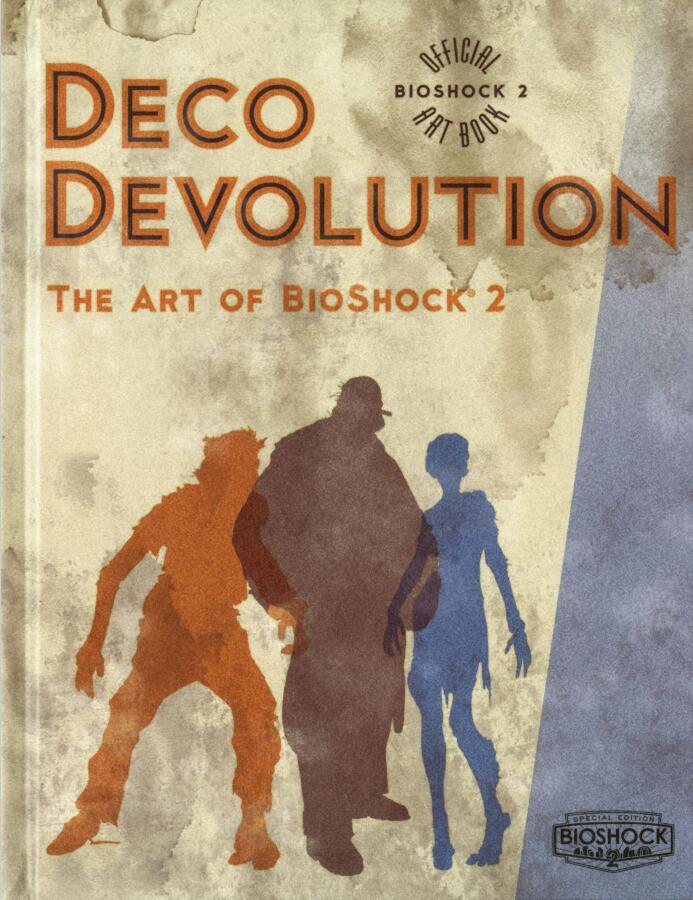生化奇兵2艺术设定集(Art of Bioshock 2)封面