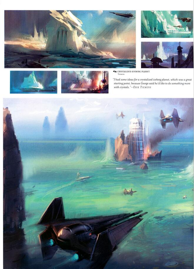 The Art of Star Wars:Episode III(星球大战3:西斯的复仇 设定集)