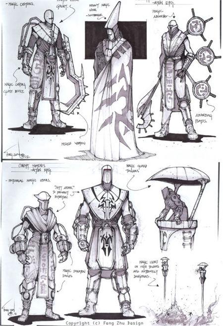 Feng Zhu Drawings(朱峰画集)
