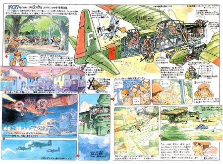 《宫崎骏杂想笔记原画集》 Hayao Miyazaki Daydream Note