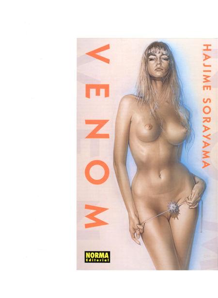 Venom-Hajime Sorayama(毒液-空山基)封面