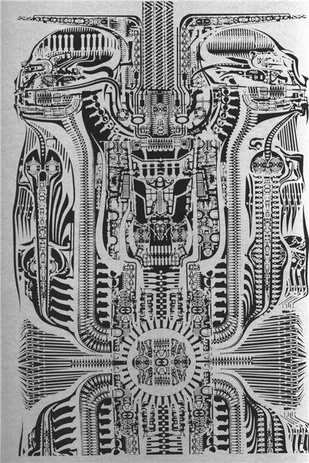H.R.Giger Art《异形》概念设定集
