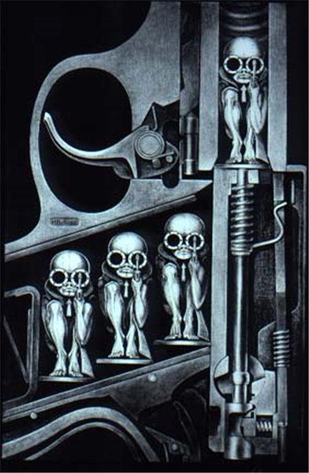 H.R.Giger Art《异形》之父作品集