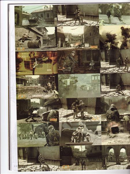 Metal Gear Solid 4 Artbook《合金装备4》设定集