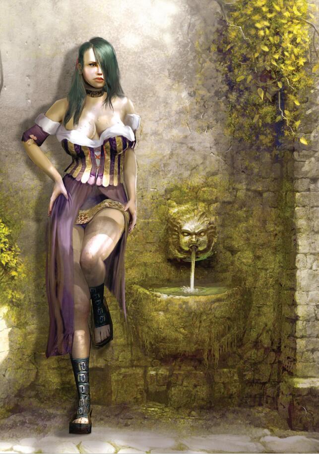 The Witcher 1 Artbook《巫师》游戏设定集