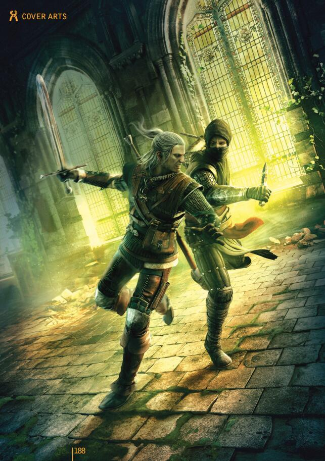 The Witcher 2 Artbook《巫师2》游戏设定集
