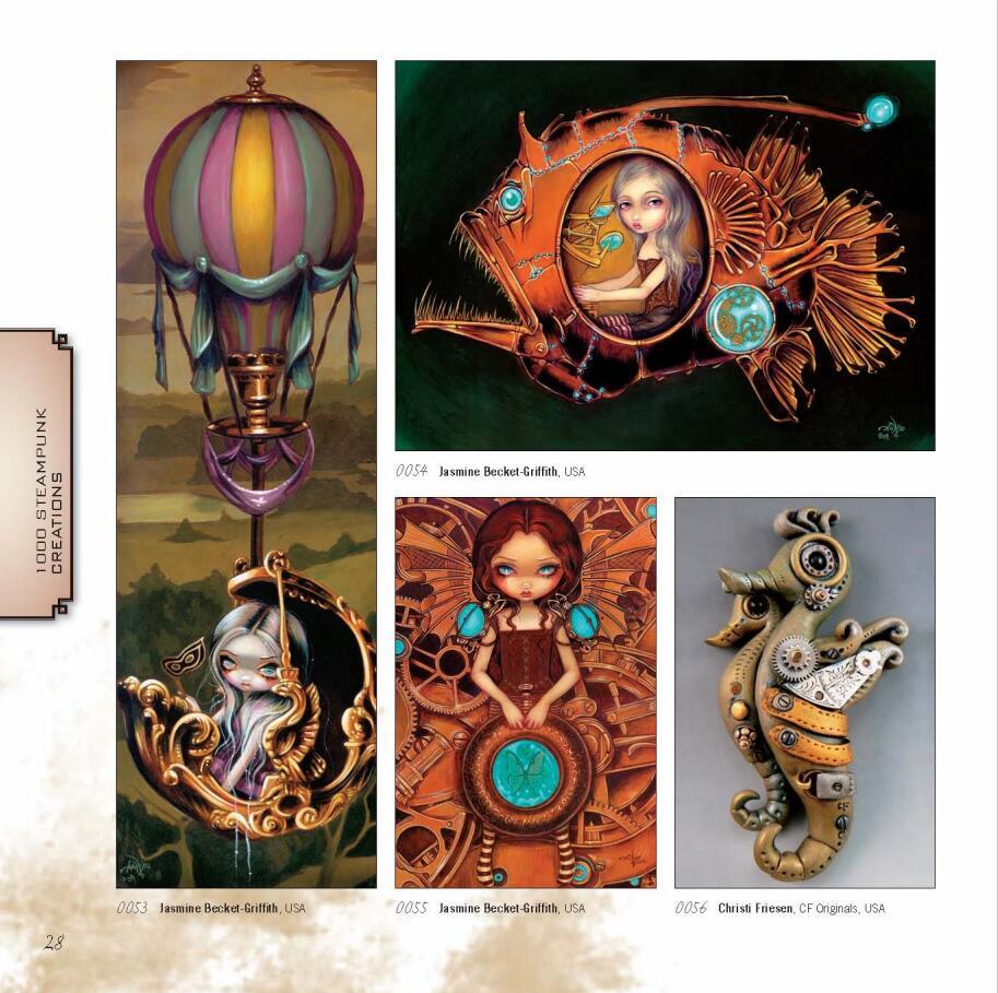 1000 Steampunk Creations(蒸汽朋克作品1000例)