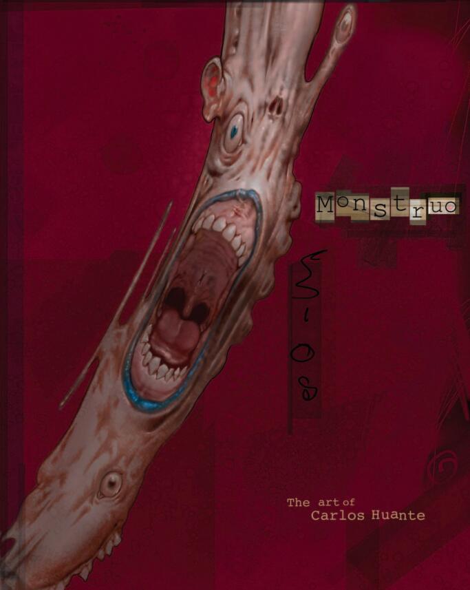 Monstruo-The Art Of Carlos Huante(怪兽概念设计)封面