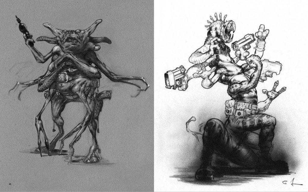 Monstruo-The Art Of Carlos Huante(怪兽概念设计)
