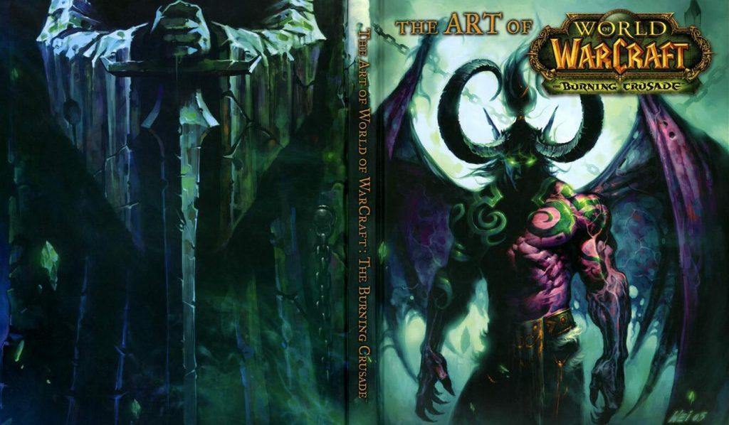 The Art Of World Of Warcraft:Burning Crusade(魔兽世界:燃烧的远征)艺术设定 封面
