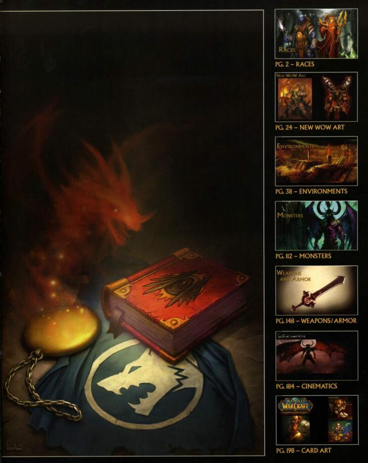 The Art Of World Of Warcraft:Burning Crusade(魔兽世界:燃烧的远征)艺术设定 目录