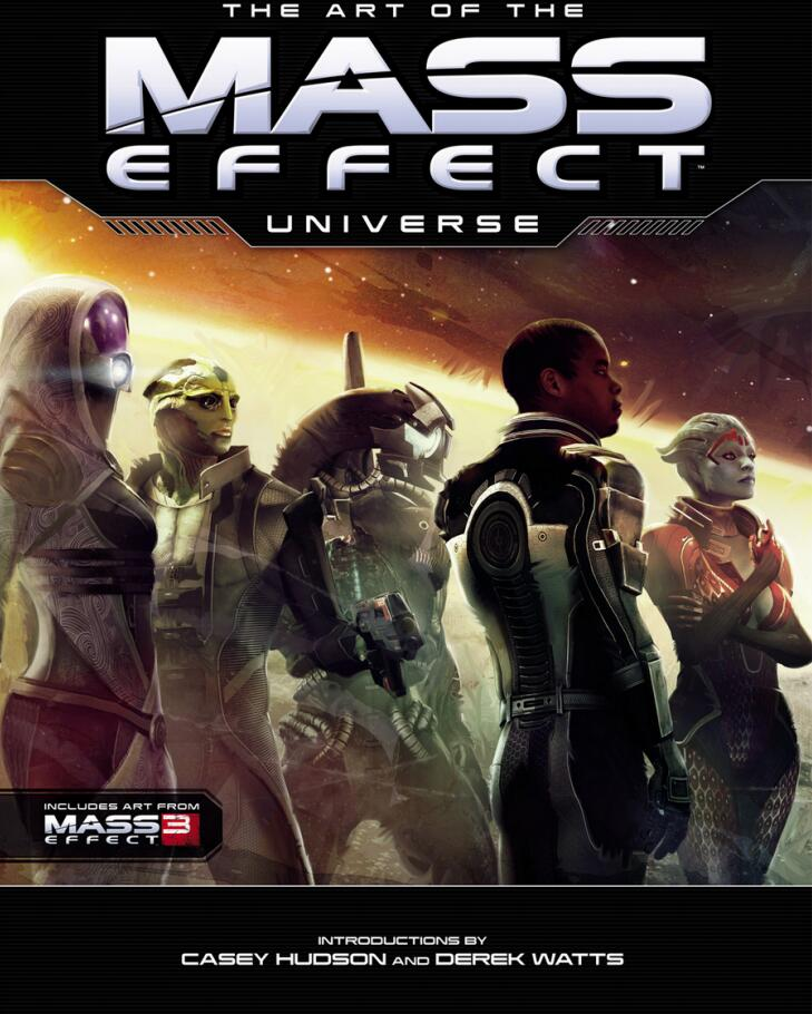 The Art of the Mass Effect Universe 质量效应宇宙设定集 封面