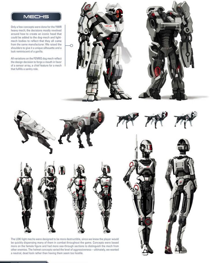 The Art of the Mass Effect Universe 质量效应宇宙设定集