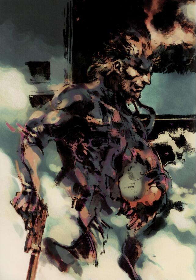 Metal Gear Solid 2 Artbook《合金装备2》设定集
