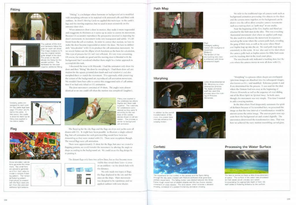 The Art of Howls Moving Castle《哈尔的移动城堡》设定集 CG