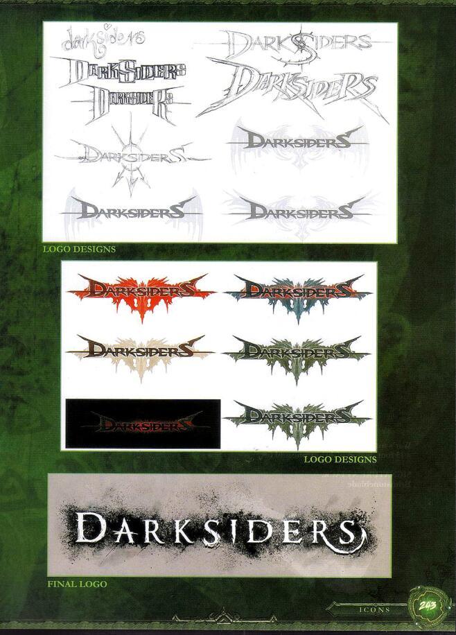 The Art of Darksiders(黑暗血统设定集)