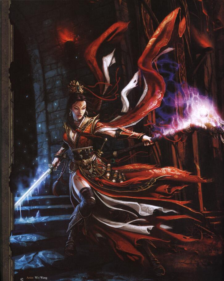 The Art of Diablo III(暗黑破坏神3概念设计)