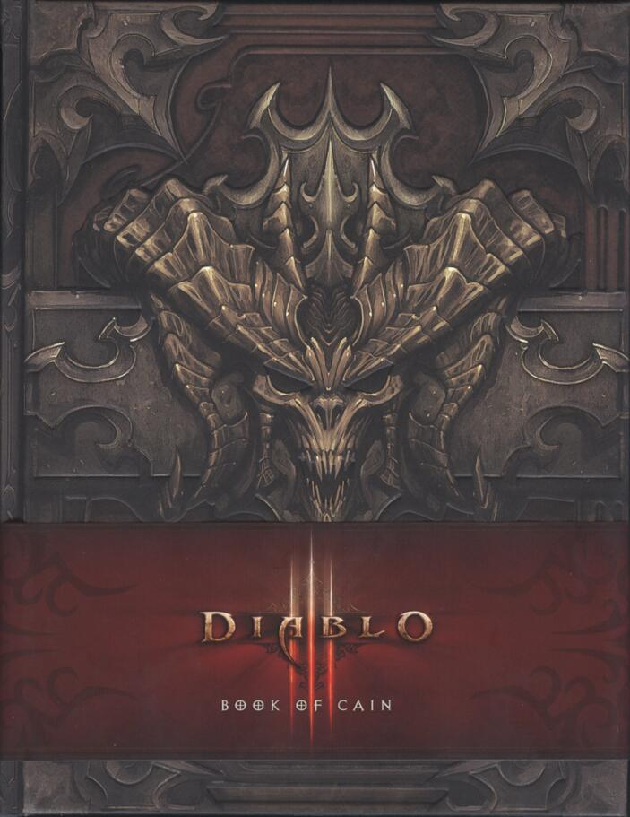 Diablo III : Book of Cain(暴雪-暗黑破坏神3:凯恩之书) 封面