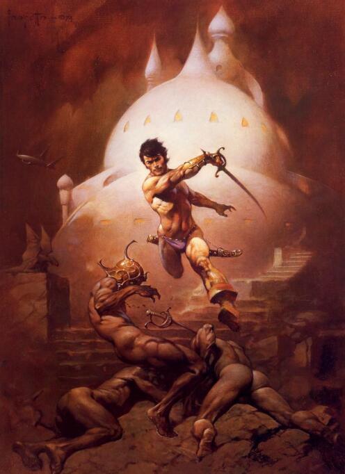 Frank Frazetta - Erotic Fantasy Art(弗兰克·弗雷泽塔-情色奇幻艺术)
