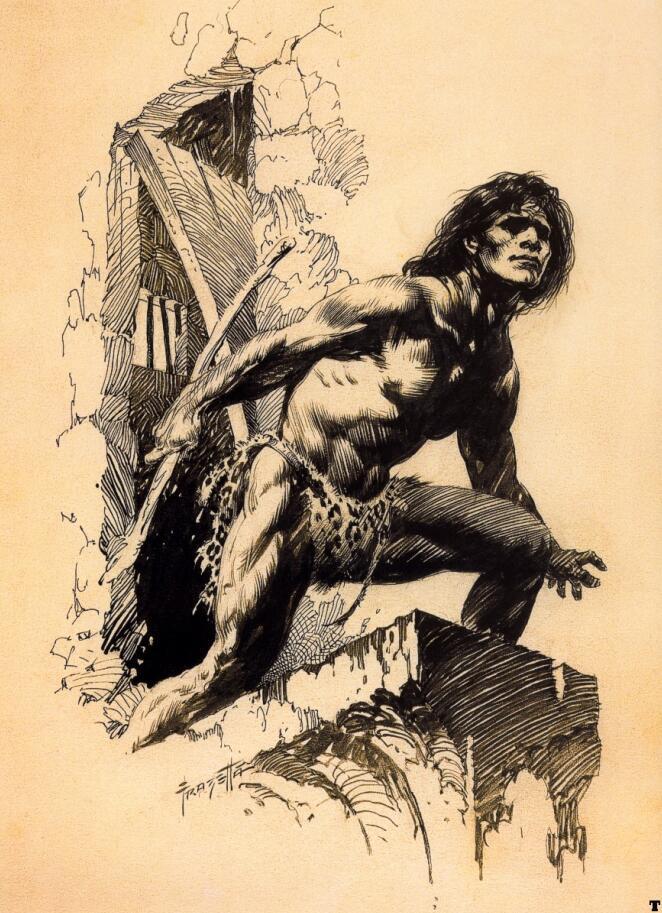 Frank Frazetta - Fantasy Illustrated(弗兰克·弗雷泽塔-奇幻插画)