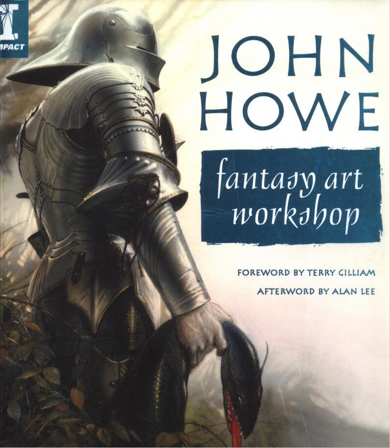 John Howe fantasy art workshop(约翰·豪-奇幻艺术工作室)封面