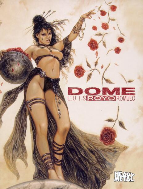 Luis Royo-Dome(路易斯·罗佑-圆顶)封面