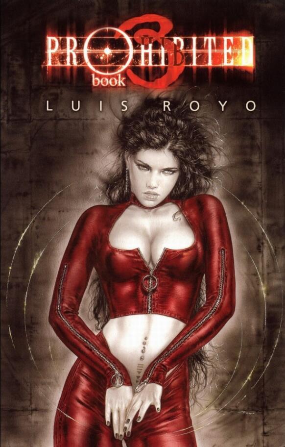 Luis Royo-Prohibited Book III