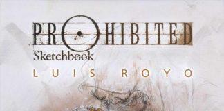 Luis Royo-Prohibited Sketchbook (路易斯·罗佑-禁书速写)封面