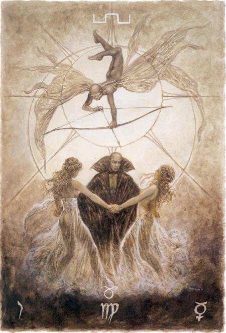 Luis Royo-The Labyrinth Tarot (路易斯·罗佑-迷宫塔罗牌)