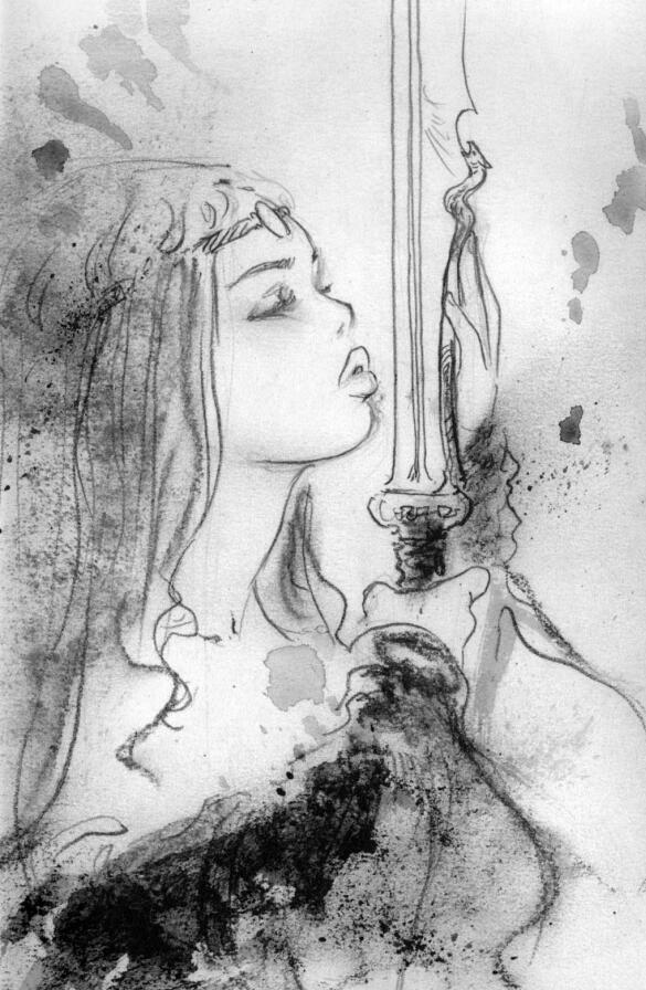 Luis Royo-Wild Sketches 1(路易斯·罗佑-狂乱速写1)