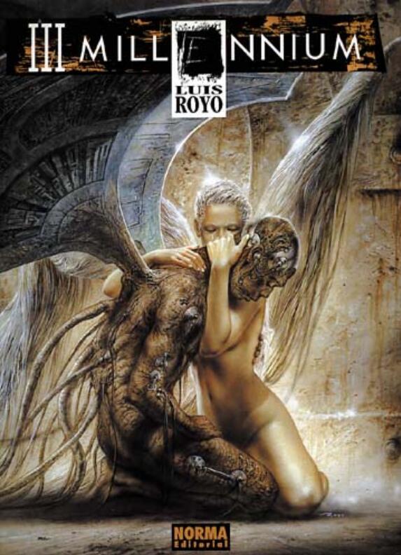 Luis Royo-Millennium(路易斯·罗佑-太平盛世)封面