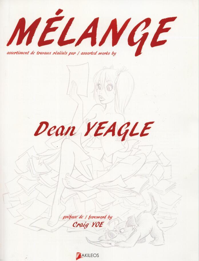 Melange by Dean Yeagle(卡通大师作品集)封面