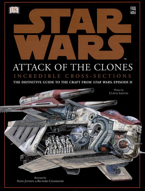 Star Wars: Attack of the Clones Incredible Cross-Sections(星球大战2:不可思议的剖面)封面