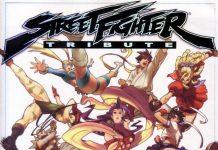 Street Fighter Tribute(街头霸王4画集)封面