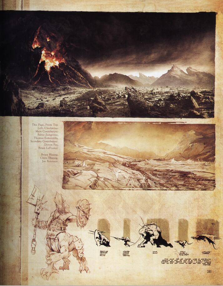 The Art of Diablo III Concept (暗黑破坏神3概念设计)