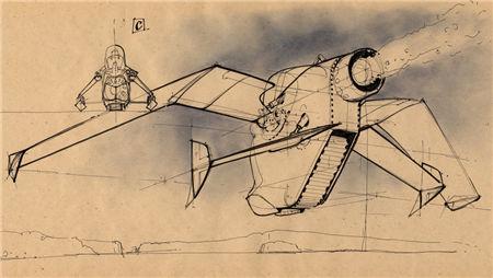 Scott Robertson Drawings(斯科特.罗伯逊画集)