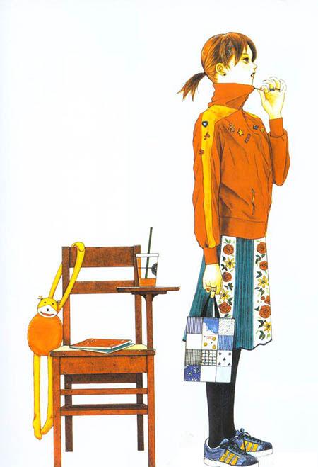 《透明水色少女画集》(透明な色した少女のために)[藤原薰]