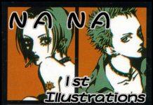 《矢沢爱原画集》(NANA 1st ILLUSTRATIONS)