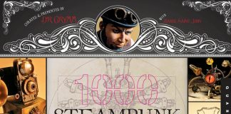 1000 Steampunk Creations(蒸汽朋克作品1000例)封面